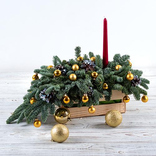 "Фото №1: ""Рождественское чудо"" золото"