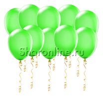 Салатовые шары