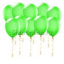 Фото №1: Салатовые шары