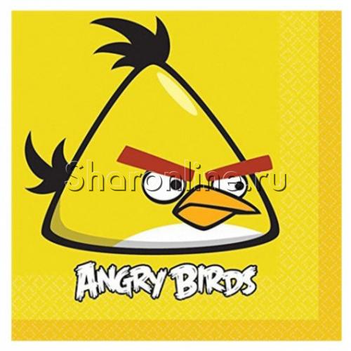 """Фото №1: Салфетки """"Angry Birds"""" 20 шт"""