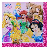 """Салфетки """"Принцессы и животные"""" 12шт"""
