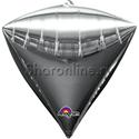 Фото №1: Шар 3D Алмаз Серебряный 44 см
