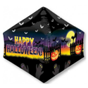 """Фото №1: Шар 3D Пирамида """"Привидения"""" 44 см"""