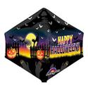 """Фото №2: Шар 3D Пирамида """"Привидения"""" 44 см"""