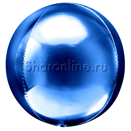 Фото №1: Шар 3D Сфера Синяя 41 см