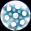 "Фото №1: Шар Bubble ""Горошек"" 50 см"
