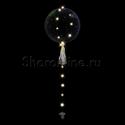 Фото №1: Шар Bubble на белой светодиодной ленте