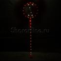 Фото №2: Шар Bubble на красной светодиодной ленте