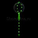 Фото №1: Шар Bubble на зеленой светодиодной ленте