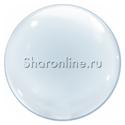 Фото №1: Шар Bubble прозрачный 60 см