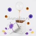 Фото №1: Шар Bubble с конфетти в коробке