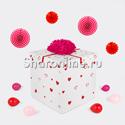 """Фото №2: Шар Bubble в коробке """"Люблю тебя ... !"""""""