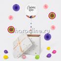 """Фото №3: Шар Bubble в коробке """"Счастье есть"""""""