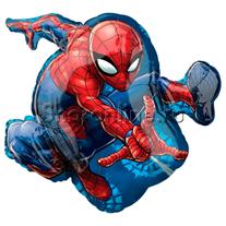 """Шар """"Человек-паук в прыжке"""" 81 см"""