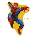 """Фото №1: Шар """"Человек-паук в прыжке"""" 81 см"""