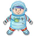 """Фото №1: Шар Фигура """"Астронавт"""" 80 см"""