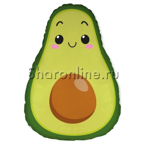 """Фото №1: Шар Фигура """"Авокадо"""" 64 см"""