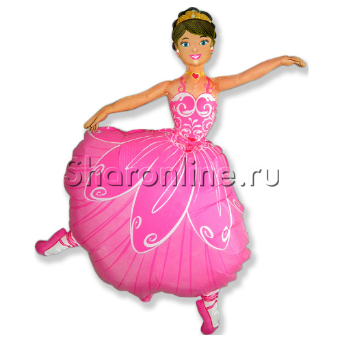 "Фото №1: Шар Фигура ""Балерина"" 102 см"
