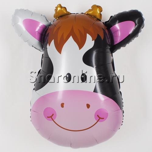 Фото №1: Шар Фигура Большая голова Коровы 86 см