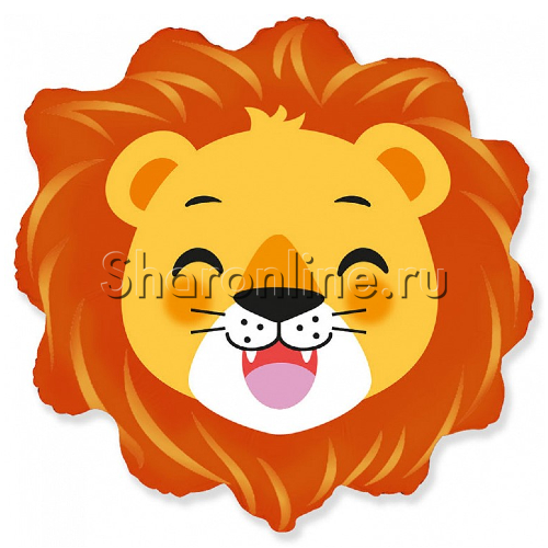 Фото №1: Шар Фигура Большая голова Льва 58 см