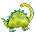 "Фото №1: Шар Фигура Динозавр ""Бронтозавр"" 81 см"
