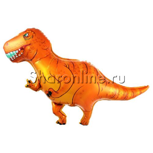 """Фото №1: Шар Фигура Динозавр  """"Ти-Рекс"""" 104 см"""