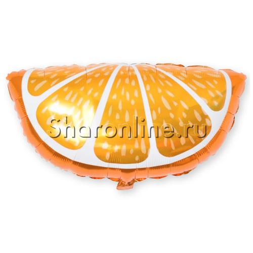 Фото №1: Шар Фигура Долька Апельсина 66 см