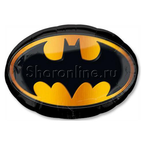 """Фото №1: Шар Фигура """"Эмблема Бэтмена"""" 89 см"""