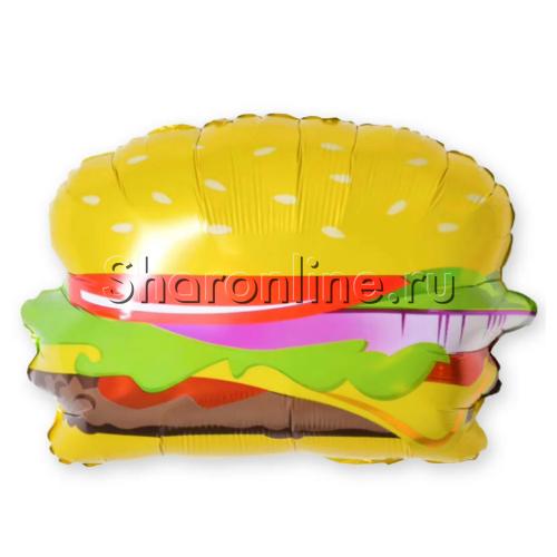 """Фото №1: Шар Фигура """"Гамбургер"""" 53 см"""