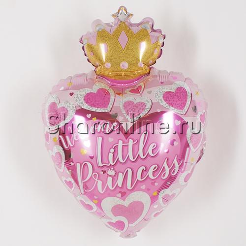 """Фото №1: Шар Фигура """"Маленькая Принцесса"""" 48 см"""