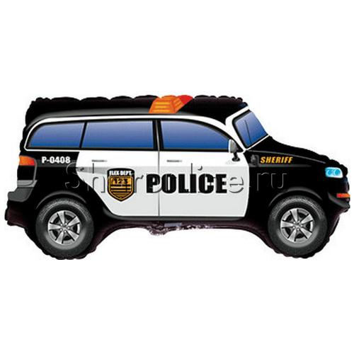 """Фото №1: Шар Фигура """"Полицейская машина"""" 84 см"""