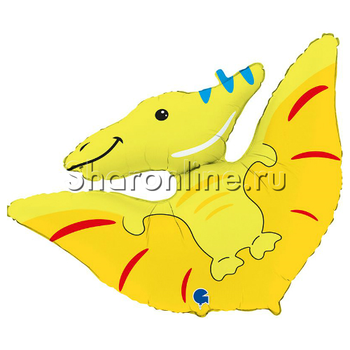 "Фото №1: Шар Фигура Динозавр ""Птеродактиль"" 82 см"