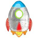 "Фото №1: Шар Фигура ""Ракета"" 104 см"