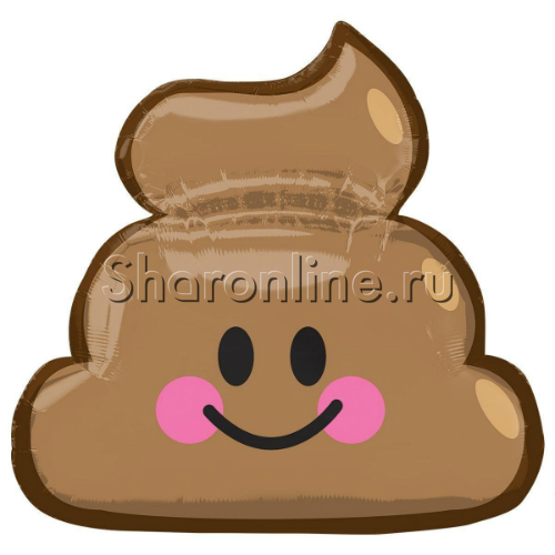 "Фото №1: Шар фигура ""Шоколадное мороженое"" 63 см"