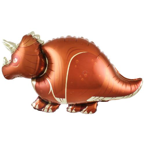 "Фото №1: Шар Фигура Динозавр ""Трицератопс"" 91 см"