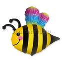 """Фото №1: Шар Фигура """"Веселая пчела"""" 76 см"""
