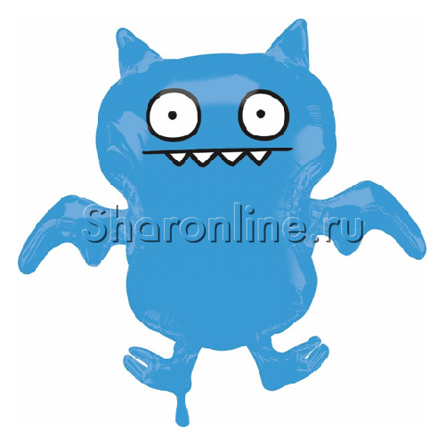 "Фото №1: Шар ""Ice Bat"" Ugly Dolls 91 см"