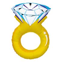 Шар Кольцо с бриллиантом 102 см