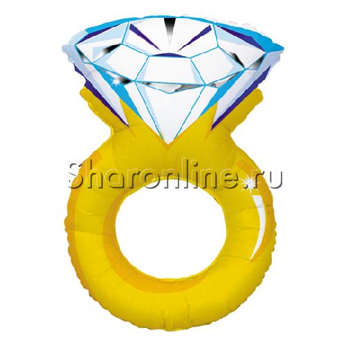 Фото №1: Шар Кольцо с бриллиантом 70 см