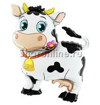 """Шар """"Корова"""" 76 см"""
