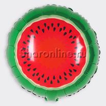 Шар круг Арбуз 46 см