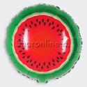 Фото №1: Шар круг Арбуз 46 см