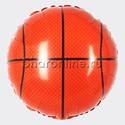 "Фото №1: Шар Круг ""Баскетбольный мяч"" 46 см"