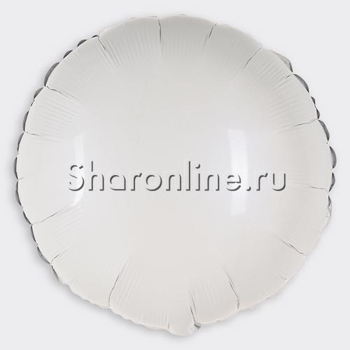 Фото №1: Шар Круг белый 46 см