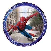 """Шар Круг """"Человек-паук в городе"""" 46 см"""