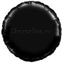 Фото №1: Шар Круг Черный 46 см