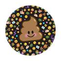 Фото №1: Шар круг Эмоции Шоколадное мороженое 46 см