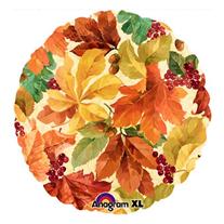"""Шар Круг """"Осенние листья"""" 46 см"""