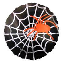 "Шар круг ""Паук оранжевый"" 46 см"