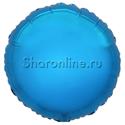 """Фото №1: Шар """"Круг""""синий 46 см"""